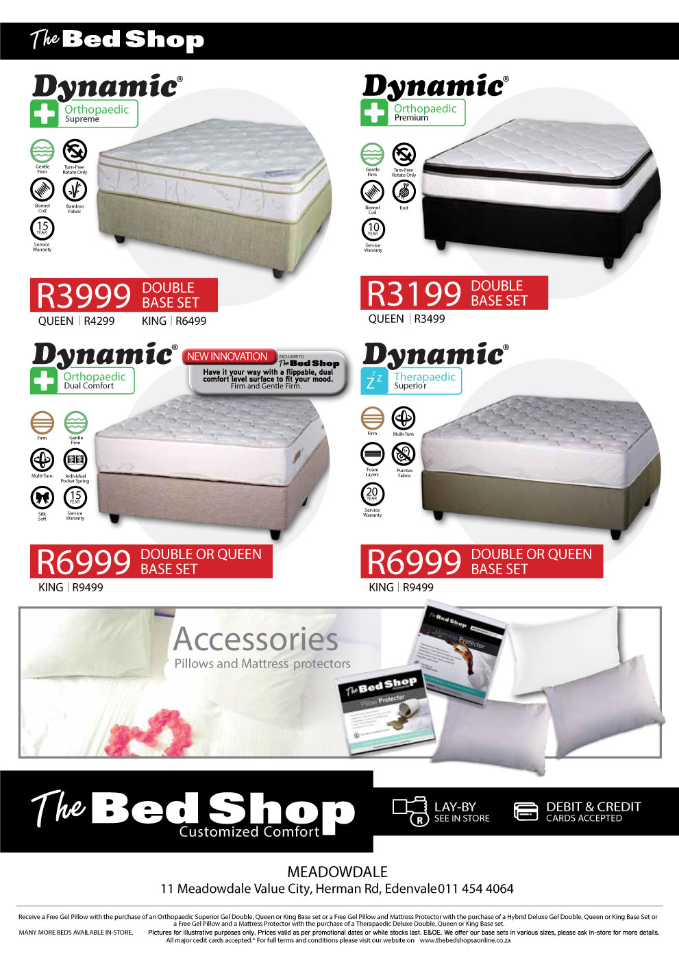amazing deals for quality bed bases and mattress sets Rustenburg